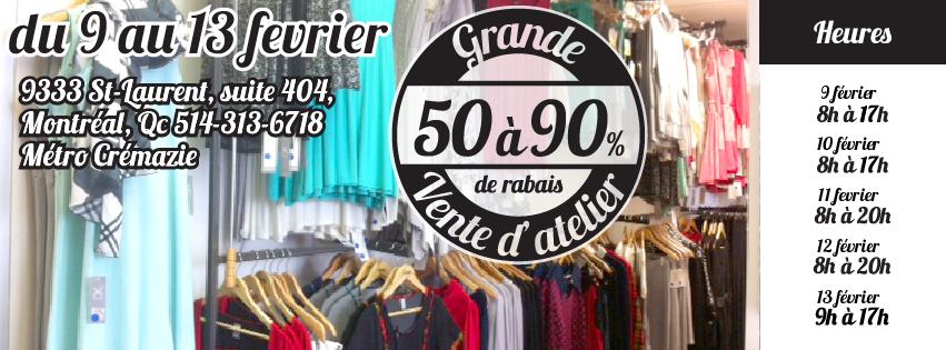 100% fait au Québec